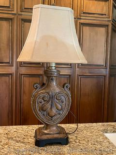 Vintage Style Table Lamp (A)