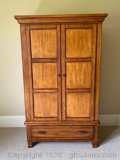 Woolrich Furniture Clothing Armoire / Entertainment Center