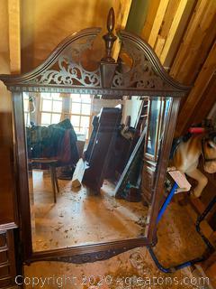 Bernhardt Wall Hanging Mirror
