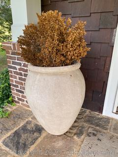 Large Outdoor Cement Planter (C)