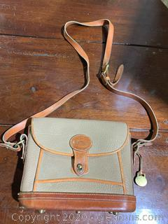 Vintage Dooney and Bourke Woman's Messanger Bag