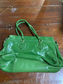 Ann Taylor Patent Leather Purse