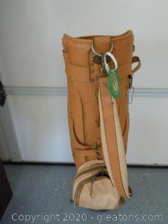 Vintage Burton Mfg. Jasper Alabama Golf Bag