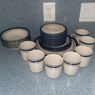26 Piece Stoneware set from Japan