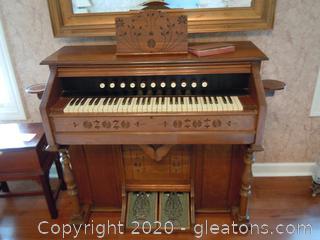 Vintage Pump Organ