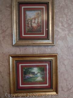 Pair of Outdoor Framed Art Prints(2)