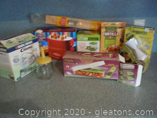 Various Kitchen Gadgets