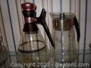 Pair of Vintage Coffee or Tea Servers
