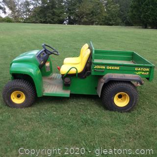 2000 John Deere Gator 4x2 ATV and Utility Vehicle - Runs Well