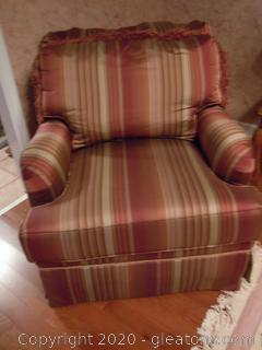 Vanguard Cushioned Armchair Goes with 8204 (A)