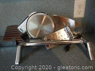 Vintage Rival Electric Food Slicer
