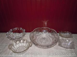 Varied Serving and Candy Dishes