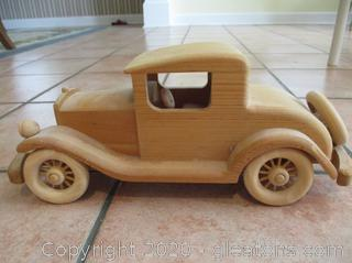 Handcrafted Wooden Model T