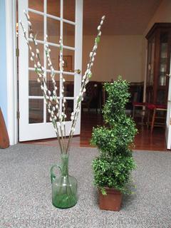 2 Unique Pieces of Plant Decor