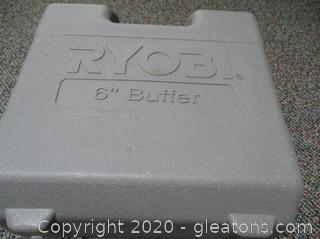 Ryobi Buffer/Polisher Model RB60 in Case