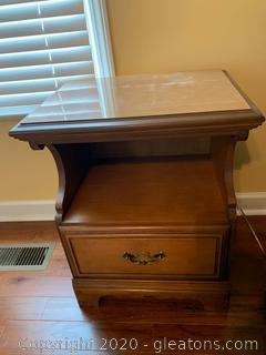 Colonial Style Night Stand