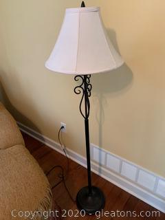 Scroll Floor Lamp