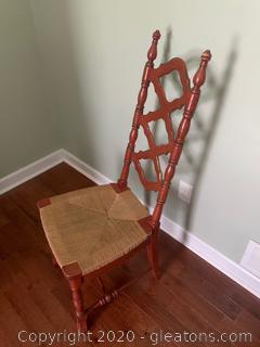 Wicker Side Chair (Armless)