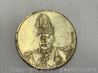1916 Hat Touching Rim Flying Dragon Dollar