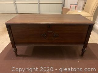 Vintage Cedar Chest by Roos Original