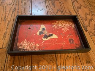 Decorative Butterfly Tray