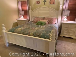 Havertys Modern King Size Bed