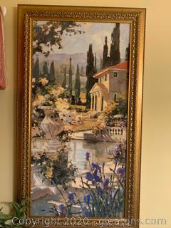 Tuscan Landscape by Marilyn Simandle