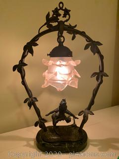 Unique Bell Shaped Elf Lamp