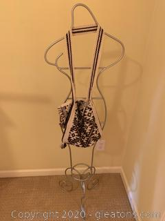 Metal Mannequin and Purse Holder