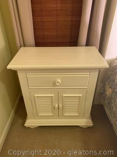 Large Nightstand with Shutter Doors (B)