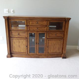 Maxwell Entertainment Console Oak