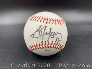 Bo Jackson Signed Baseball