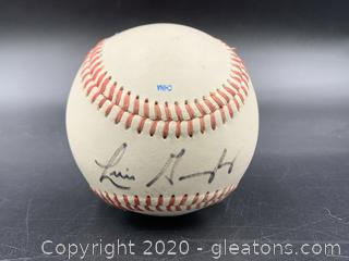 Signed Luis Gonzalez Minor League Baseball