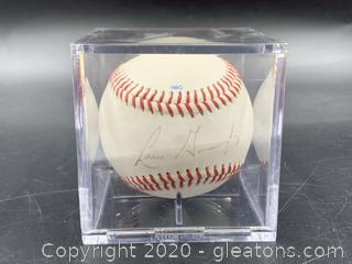 Signed Luis Gonzalez Arizona League Baseball