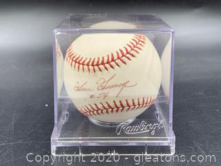 Goose Gossage #54 Signed Baseball