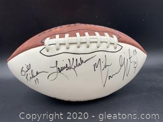 2001 Ken Stabler Tournament Signed Football