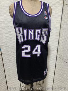 Bobby Jackson #24 Sacramento Kings Signed Jersey