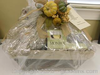 PERFECT WEATHER FOR A WINE TRIO BASKET!