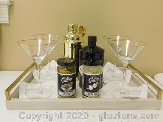 Martini Maker Bar Set