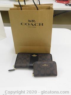 Coach Wallet Set