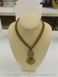 Rose Quartz Multi-Wear Necklace