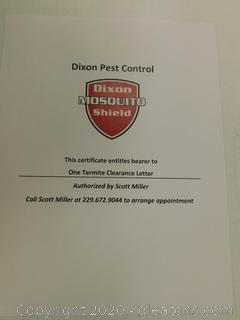 Dixon Pest Control