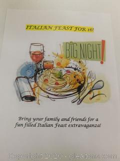 THAT'S AMORE' ITALIAN FEAST