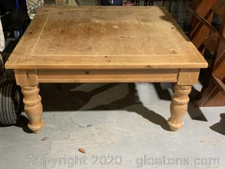 Aged Wood Coffee Table