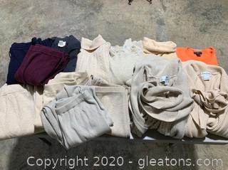 100% Cashmere Designer Clothing Lot