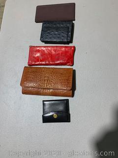 Lot of Wallets (5 Wallets)