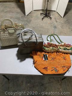 Lot of Stylish Handbags (4 Bags)