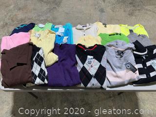 Lot of 100% Cashmere Designer Clothing