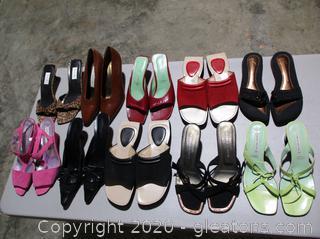 Lot of Summer Designer Shoes