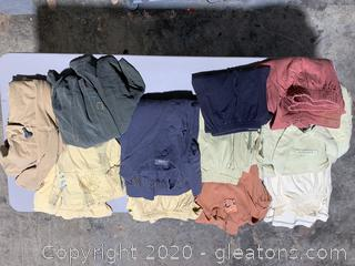 Lot Of Blue Fish Clothing